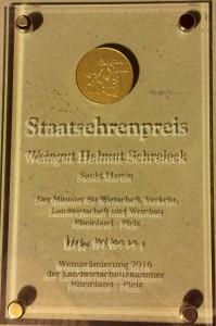 Staatsehrenpreistafel 2016