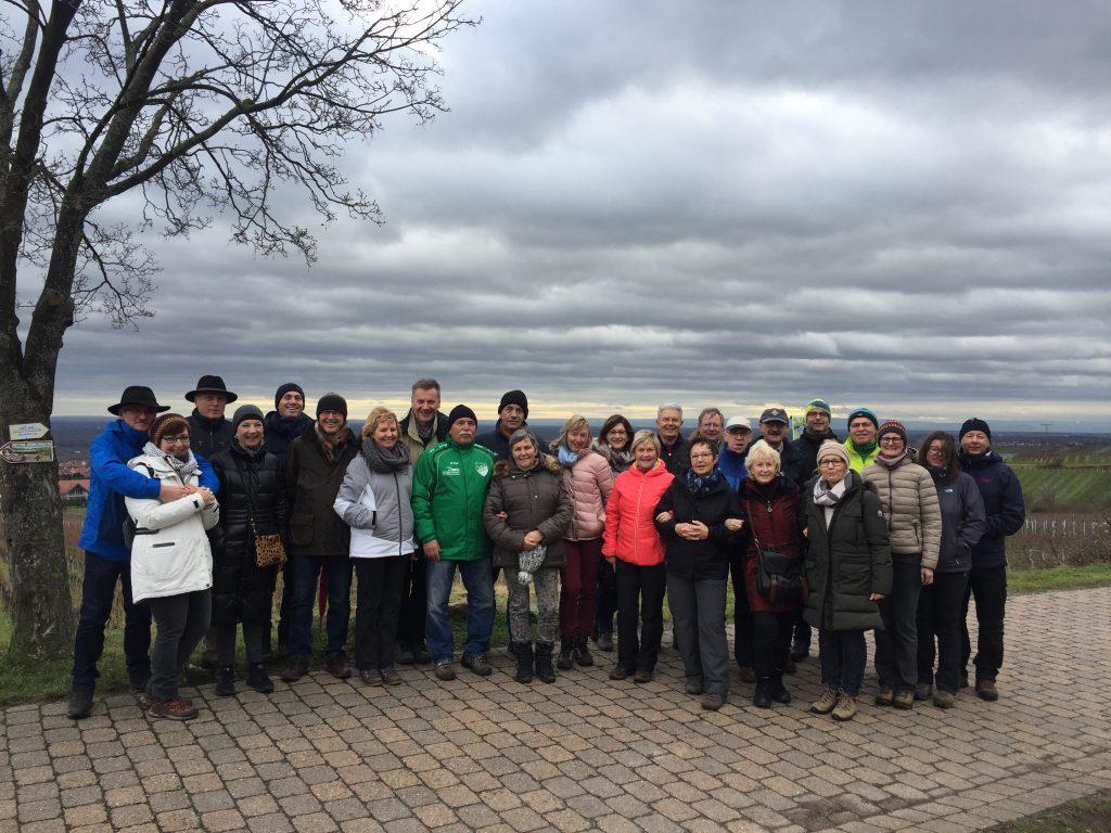 Weinbergswanderung Silvesterarrangement Gästehaus 2017