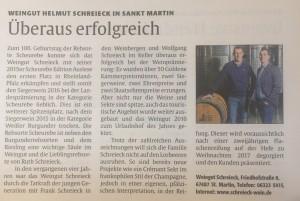 Presseartikel LEO 2016 Staatsehrenpreis